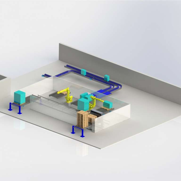 Robot Installatie Vierkant
